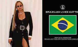 Beyoncé lidera campanha contra a fome no Brasil