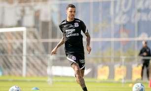 Thiaguinho volta de empréstimo e treina com o elenco do Corinthians