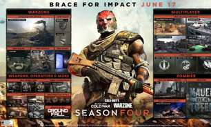 COD: Black Ops Cold War e Warzone receberão Temporada 4 em junho