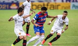 Fortaleza derrota o Sport e segue com campanha perfeita