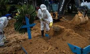 Brasil atinge marca de 490 mil mortes pelo novo coronavírus