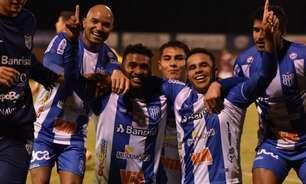 Matheus comemora primeiro gol pelo Esportivo-RS em vitória na Série D