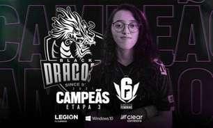 Black Dragons vence mais uma etapa e garante vaga antecipada na fase final do Circuito Feminino de Rainbow Six Siege 2021