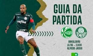 Juventude x Palmeiras: onde assistir ao duelo pelo Brasileirão, arbitragem e escalações