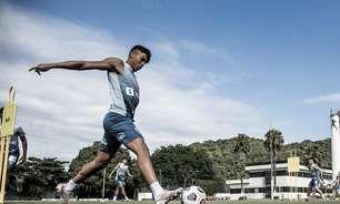 Santos muda o foco e aguarda proposta para vender Kaio Jorge neste ano