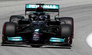 """Mercedes tenta transformar frustração em motivação e prevê """"melhor sorte"""" na França"""