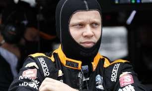 """Rosenqvist reporta dores após acidente e traça objetivo: """"Descansar e me recuperar"""""""