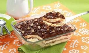 Receita de pavê de Nutella® fácil e saborosa