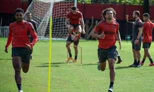 Flamengo divulga relacionados para jogo contra o Coritiba, no Maracanã