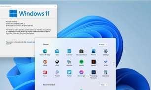 Windows 11: sucessor do Windows 10 vaza com nova interface e menu Iniciar