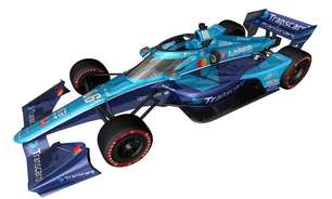 Meyer Shank divulga pintura azul para carro de Castroneves no GP de Nashville