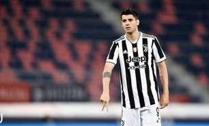 Juventus renova o empréstimo de Morata por mais uma temporada