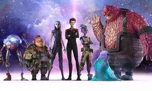 """Nova série animada de """"Star Trek"""" revela imagens e dubladores"""