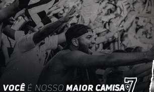 Novidade Alvinegra: Botafogo lança novo programa de sócio-torcedor, chamado 'Camisa 7', nesta terça