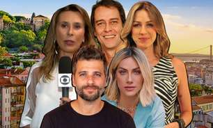 Eles trocaram o glamour da Globo por vida calma em Portugal