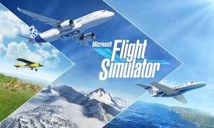 Flight Simulator ocupa quase 100 GB no Xbox Series X/S