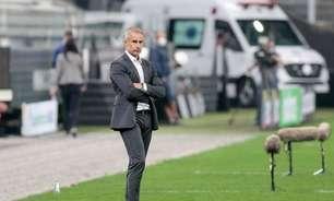 Contra o Bragantino, Sylvinho terá a chance de vencer pela primeira vez em casa como técnico do Corinthians