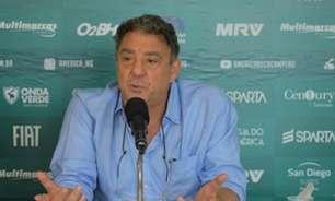 Marcus Salum confirma Cauan de Almeida no comando até que o América-MG contrate um técnico