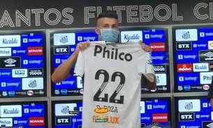 Danilo Boza deve ser a novidade do Santos contra o Fluminense