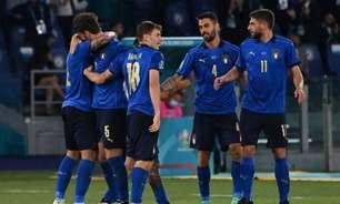 Itália domina, goleia Suíça e se garante nas oitavas da Euro