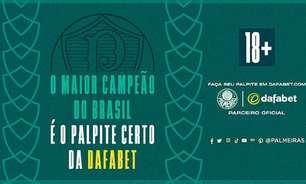 Palmeiras anuncia acerto com empresa de apostas esportivas para esta temporada