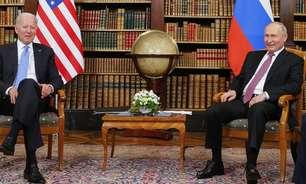 Biden e Putin fazem reunião em Genebra, mas a discórdia entre EUA e Rússia permanece