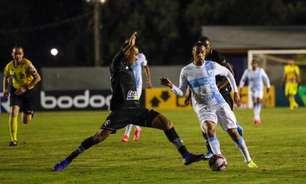 Em jogo agitado, Londrina e Botafogo empatam pela Série B do Brasileiro