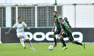 No 1º jogo sem Lisca, América fica no empate com Cuiabá