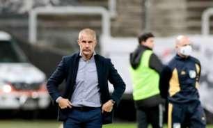 Sylvinho vê dois tempos distintos em derrota do Corinhians para o Bragantino: 'Tivemos um decréscimo'
