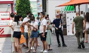 Itália volta a ter menos de 100 mil casos ativos de Covid após 8 meses