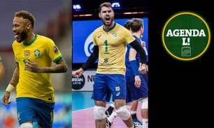 Copa América, Liga das Nações de Vôlei... Saiba onde assistir aos eventos esportivos de quinta-feira