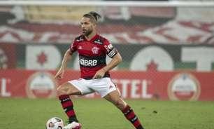Diego comemora nova marca pessoal e elogia evolução defensiva do Flamengo: 'Mérito da equipe'