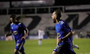 Veja o gol de Bruno José, que deu a 1ª vitória ao Cruzeiro na Série B