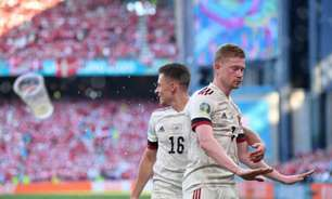 Com show de De Bruyne, Bélgica vence a Dinamarca de virada na Eurocopa