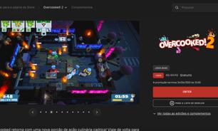 Overcooked 2 para PC fica de graça para baixar na Epic Games Store