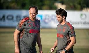 Recuperado da covid, Rogério Ceni comanda treino do Flamengo