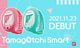 Bichinho virtual Tamagotchi retorna em forma de Smart Watch
