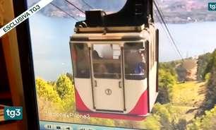 Vídeo da queda de teleférico gera polêmica na Itália