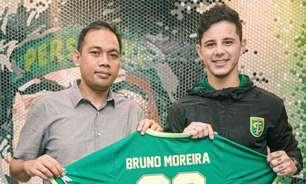 Brasileiro bomba na internet após ser anunciado em clube da Indonésia