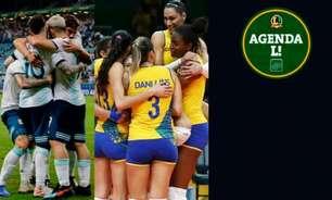 Copa América, Liga das Nações de Vôlei... Saiba onde assistir aos eventos esportivos de sexta-feira