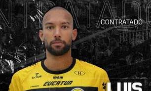 Cascavel apresenta o goleiro Luis Augusto para sequência da temporada 2021