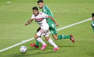 Eder, do São Paulo, comenta sobre empate contra a Chapecoense: 'O gol deles foi um pouco sorte'