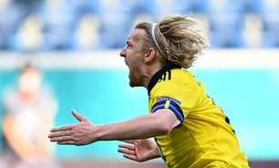 Suécia derrota Eslováquia e consegue 1ª vitória na Eurocopa