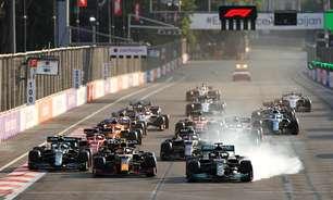 """Hamilton revela mudanças no 'botão mágico', mas insiste: """"Não considerei um erro em Baku"""""""