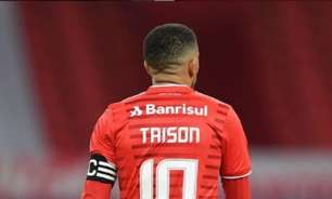 Taison será desfalque do Internacional nos próximos jogos