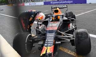 Pressão abaixo do esperado estourou pneus de Stroll e Verstappen em Baku, diz Pirelli