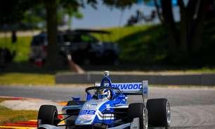 Kirkwood se aproveita de acidente e vence corrida 1 da Indy Lights em Elkhart Lake