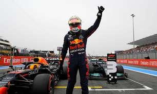 """Pole na França, Verstappen traça meta para domingo: """"Somar 25 pontos perdidos em Baku"""""""
