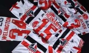 São Paulo faz leilão de camisas usadas pelos jogadores na final do Campeonato Paulista