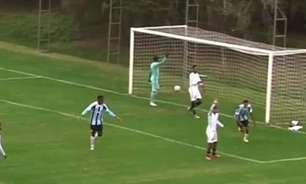 Brasileiro Sub-17: Previsível, Botafogo é envolvido pelo Grêmio e amarga nova derrota na competição